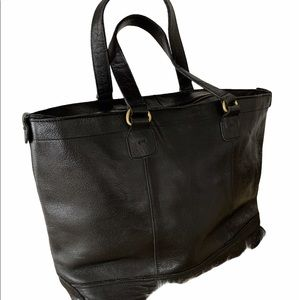 Real leather tote (Weekend)bag